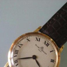 Relojes - Baume & Mercier: RELOJ MUJER BAUMER & MERCIER, ORO 18 KILATES, FUNCIONAMIENTO MECANICO, ANOS 60, DIAMETRO 30MM. Lote 58107362