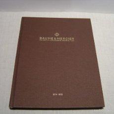 Relojes - Baume & Mercier: CATÁLOGO BAUME & MERCIER 2014-2015. Lote 55385721