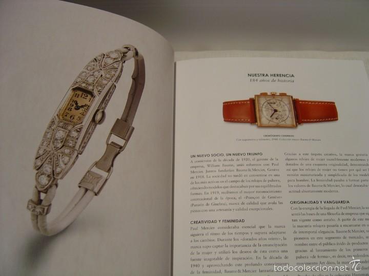 Relojes - Baume & Mercier: CATÁLOGO BAUME & MERCIER 2014-2015 - Foto 5 - 55385721