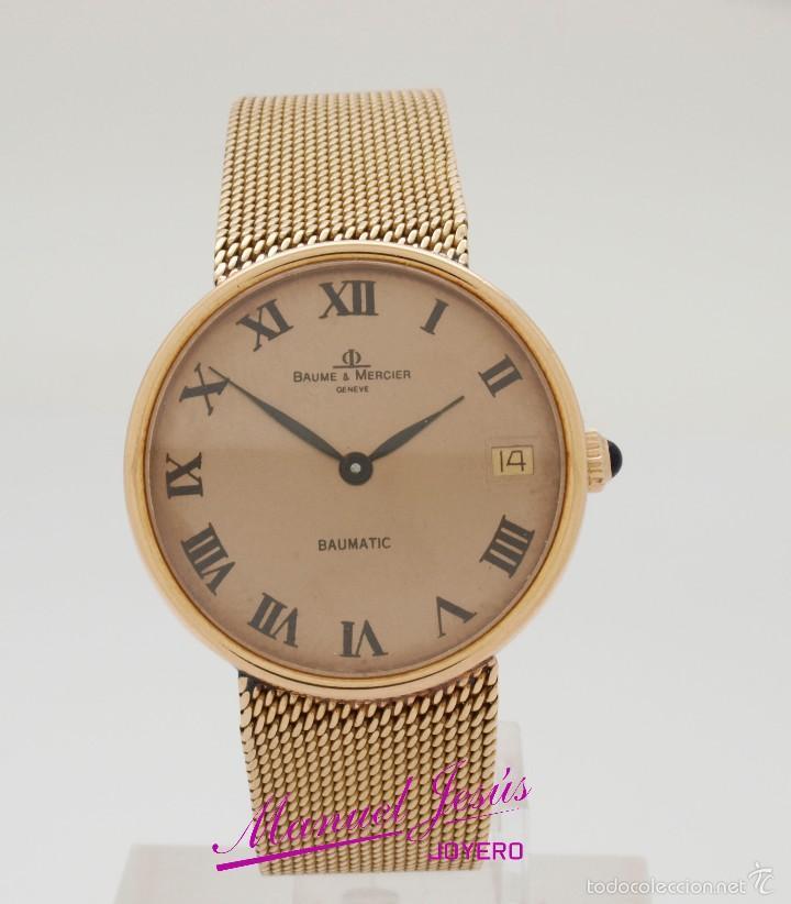 a4c9c1b95010 Relojes - Baume   Mercier  Reloj de caballero Baume   Mercier automático