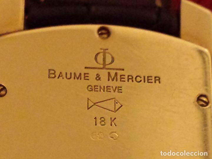 Relojes - Baume & Mercier: RELOJ BAUME & MERCIER ORO MACIZO 18K - CAJA Y PAPELES - MODELO HAMPTON MILLEIS (M045224) - Foto 11 - 105723619
