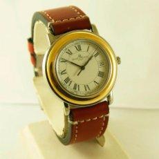 Relógios Baume & Mercier: BAUME & MERCIER FLEETWOOD ACERO Y ORO MEN'S DRESS WATCH 5137.018 FUNCIONANDO. Lote 112428932