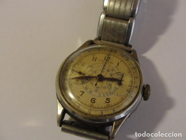 LOTE RELOJ BAUME MERCIER GENEVE TELEMETRE AÑOS 50-60 PARADO (Relojes - Relojes Actuales - Baume & Mercier)
