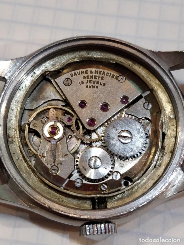 Relojes - Baume & Mercier: Reloj pulsera Baume & Mercier GENEVE. Esfera blanca y acero. - Foto 6 - 155878014