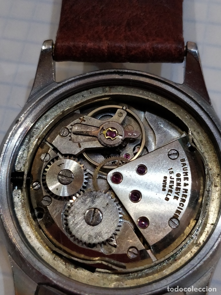 Relojes - Baume & Mercier: Reloj pulsera Baume & Mercier GENEVE. Esfera blanca y acero. - Foto 5 - 155878014