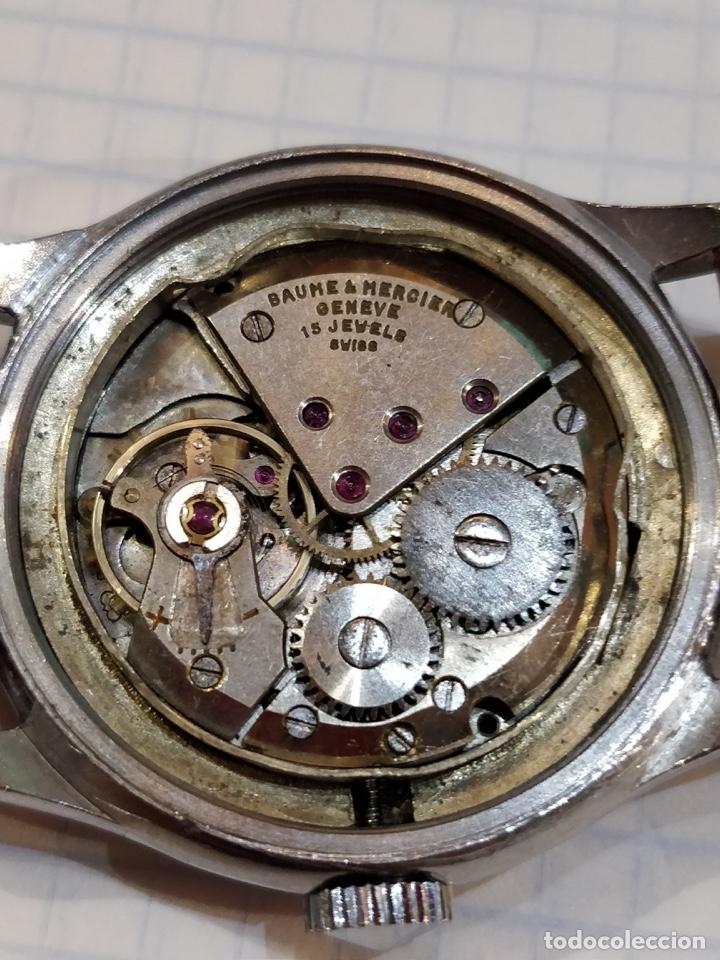 Relojes - Baume & Mercier: Reloj pulsera Baume & Mercier GENEVE. Esfera blanca y acero. - Foto 7 - 155878014