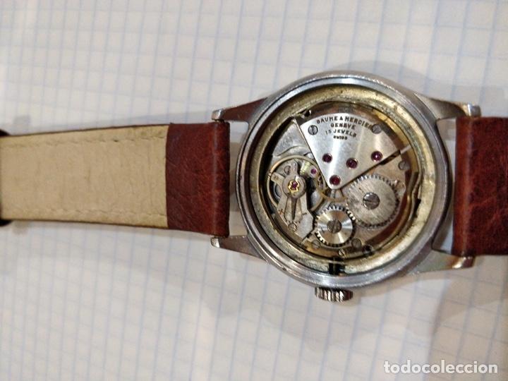Relojes - Baume & Mercier: Reloj pulsera Baume & Mercier GENEVE. Esfera blanca y acero. - Foto 4 - 155878014