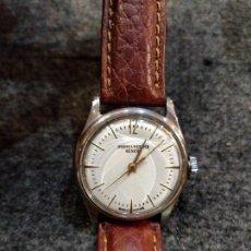 Relojes - Baume & Mercier: RELOJ PULSERA BAUME & MERCIER GENEVE. ESFERA BLANCA Y ACERO.. Lote 155878014