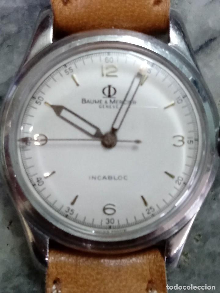 RELOJ BAUME MERCIER MECANICO AÑOS 50. (Relojes - Relojes Actuales - Baume & Mercier)
