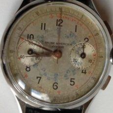 Relógios Baume & Mercier: RELOJ BAUME MERCIER CRONOGRAFO AÑOS 50.. Lote 165880721