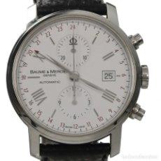 Relojes - Baume & Mercier: BAUME & MERCIER CLASSIMA CRONOGRAFO. Lote 175591013