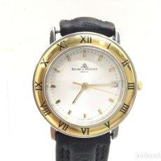 Relojes - Baume & Mercier: BAUME MERCIER.....VINTAGE.....CABALLERO....ACERO Y ORO. Lote 180885956