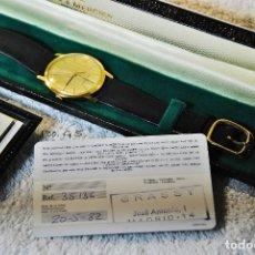 Relojes - Baume & Mercier: RELOJ DE ORO DE CABALLERO COMPRADO EN 1982. Lote 184137008