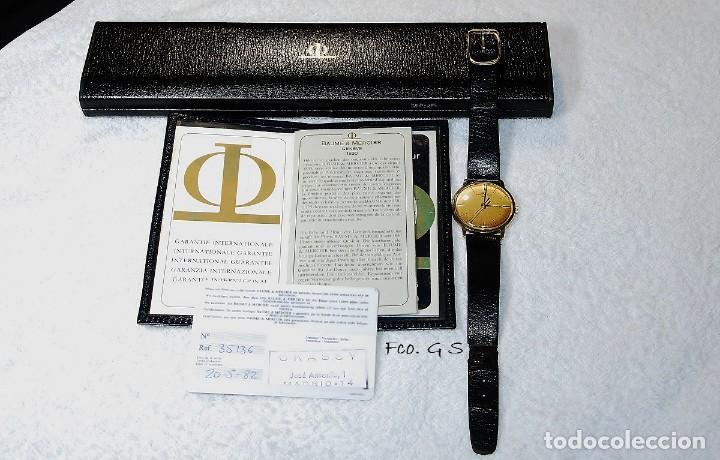 Relojes - Baume & Mercier: Reloj de oro de caballero comprado en 1982 - Foto 6 - 184137008