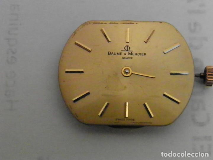 MAQUINARIA Y ESFERA RELOJ BAUME MERCIER (Relojes - Relojes Actuales - Baume & Mercier)