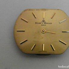 Relojes - Baume & Mercier: MAQUINARIA Y ESFERA RELOJ BAUME MERCIER. Lote 191315197