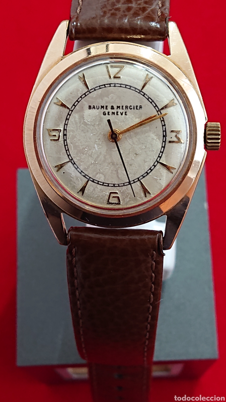 RELOJ BAUME & MERCIER GENEVE CABALLERO (Relojes - Relojes Actuales - Baume & Mercier)