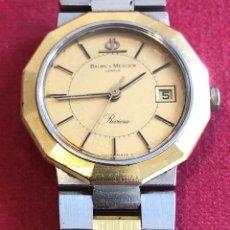 Relógios Baume & Mercier: RELOJ DE PULSERA, DE SEÑORA, BAUME&MERCIER RIVIERA.. Lote 212194355