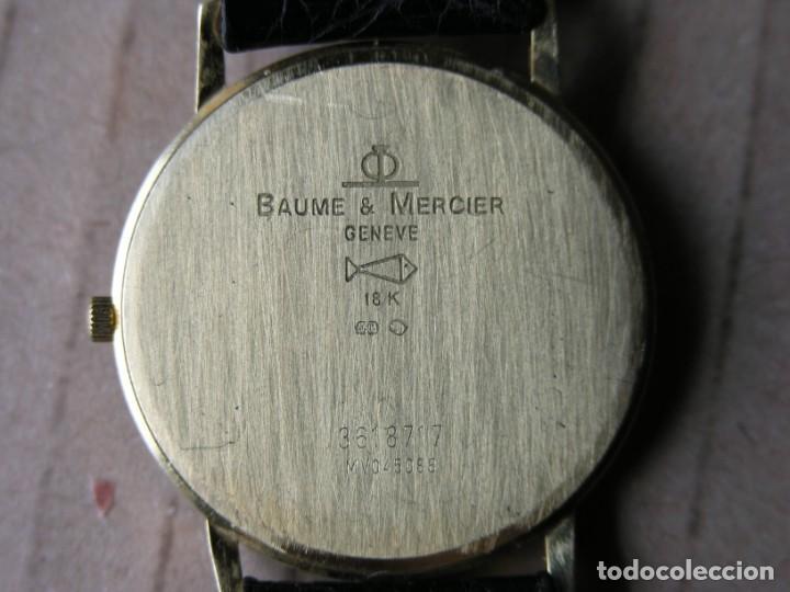 Relojes - Baume & Mercier: RELOJ BAUME & MERCIER (SUIZA) - COL. CLASSIMA - ORO 18 K - (VER DETALLES EN DESCRIPCIÓN) - Foto 3 - 214520066