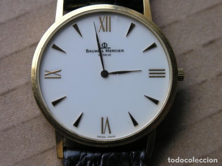 Relojes - Baume & Mercier: RELOJ BAUME & MERCIER (SUIZA) - COL. CLASSIMA - ORO 18 K - (VER DETALLES EN DESCRIPCIÓN) - Foto 4 - 214520066