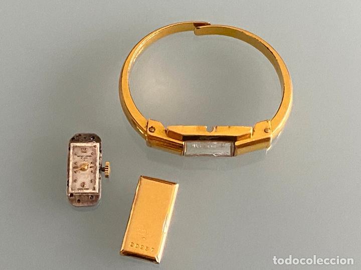 Relojes - Baume & Mercier: Baume & Mercier, montre-bracelet , reloj de señora años 40 . averiado - Foto 10 - 218581577