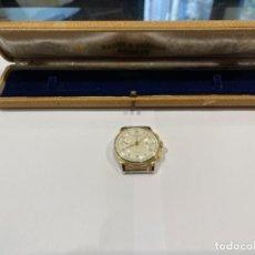 Relógios Baume & Mercier: RELOJ BAUME & MERCIER GENÈVE ORO 18 K CRONO -FUNCIONANDO- MED.: 3,6 CMS. SIN LA CORONA (G). Lote 231167530