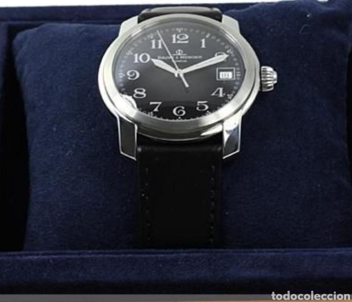 RELOJ BAUME&MERCIER MODELO CAPELAND HOMBRE,ACERO CUARZO (Relojes - Relojes Actuales - Baume & Mercier)