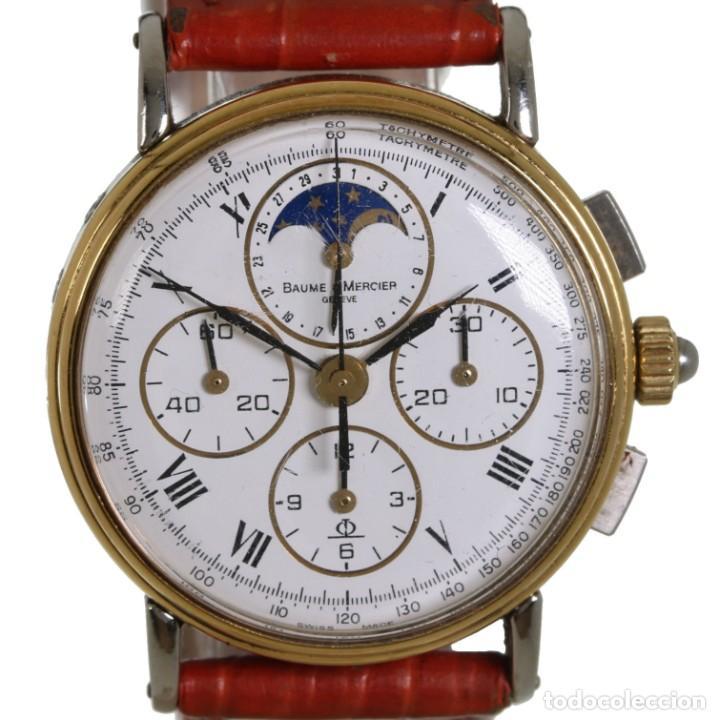 BAUME MERCIER CRONOGRAFO FASE LUNAR 6102.099 (Relojes - Relojes Actuales - Baume & Mercier)