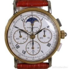 Relojes - Baume & Mercier: BAUME MERCIER CRONOGRAFO FASE LUNAR 6102.099. Lote 241896125