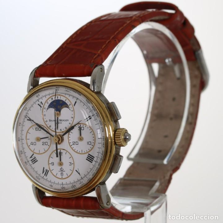 Relojes - Baume & Mercier: Baume Mercier Cronografo Fase Lunar 6102.099 - Foto 2 - 241896125