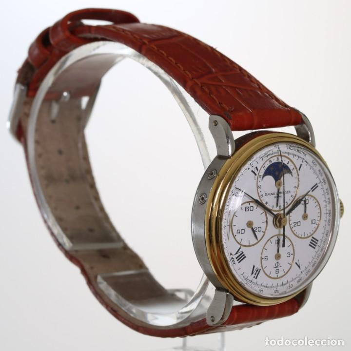 Relojes - Baume & Mercier: Baume Mercier Cronografo Fase Lunar 6102.099 - Foto 3 - 241896125