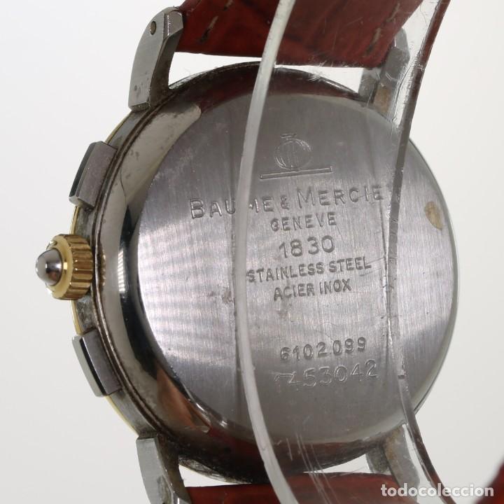 Relojes - Baume & Mercier: Baume Mercier Cronografo Fase Lunar 6102.099 - Foto 6 - 241896125