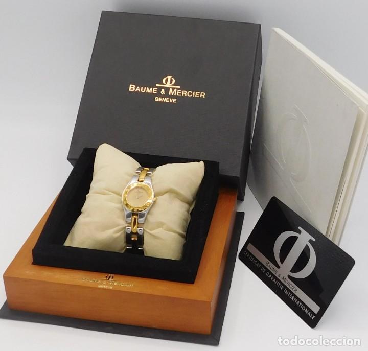 Relojes - Baume & Mercier: BAUME & MERCIER-PRECIOSO RELOJ DE PULSERA DE DAMA-FUNCIONANDO-GARANTIA - Foto 2 - 249227820
