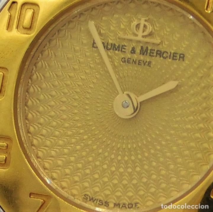 Relojes - Baume & Mercier: BAUME & MERCIER-PRECIOSO RELOJ DE PULSERA DE DAMA-FUNCIONANDO-GARANTIA - Foto 9 - 249227820