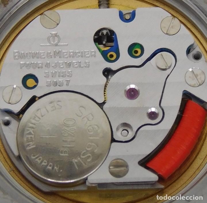 Relojes - Baume & Mercier: BAUME & MERCIER-PRECIOSO RELOJ DE PULSERA DE DAMA-FUNCIONANDO-GARANTIA - Foto 10 - 249227820