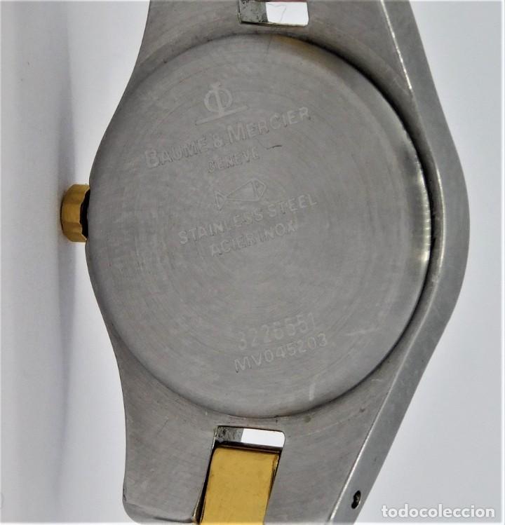 Relojes - Baume & Mercier: BAUME & MERCIER-PRECIOSO RELOJ DE PULSERA DE DAMA-FUNCIONANDO-GARANTIA - Foto 14 - 249227820
