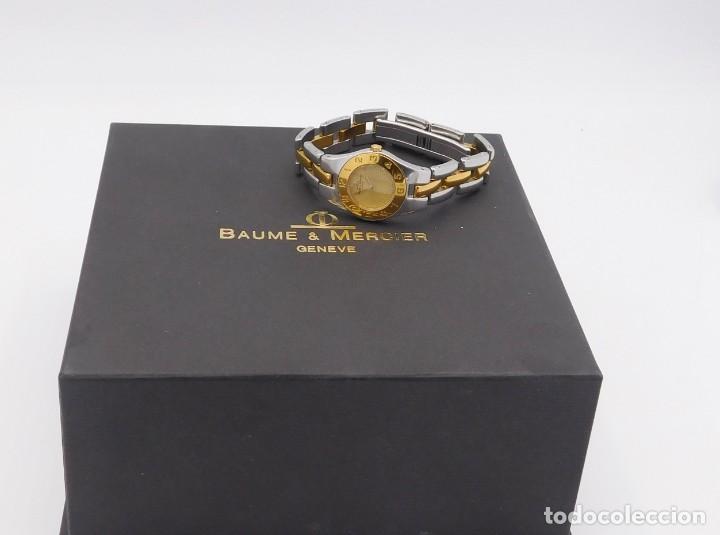 Relojes - Baume & Mercier: BAUME & MERCIER-PRECIOSO RELOJ DE PULSERA DE DAMA-FUNCIONANDO-GARANTIA - Foto 16 - 249227820