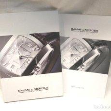 Relojes - Baume & Mercier: BAUME & MERCIER COLECCIÓN 2006 CON LISTA DE PRECIOS. Lote 249307060