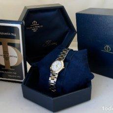 Relógios Baume & Mercier: BAUME MERCIER RIVIERA REF 5221 FUNCIONANDO CAJA Y PAPELES BICOLOR ACERO Y ORO. Lote 254693600