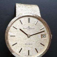 Relojes - Baume & Mercier: BAUME & MERCIER BAUMATIC ORO 18 KILATES. Lote 260388945