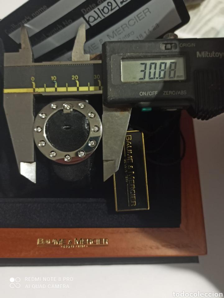Relojes - Baume & Mercier: Reloj señora Baume &Mercier,viceversa XL ,con 12 diamantes en la hebia. - Foto 3 - 264980024