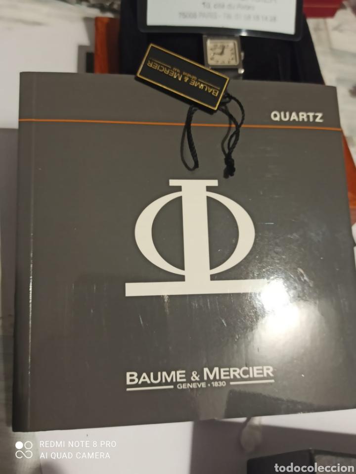 Relojes - Baume & Mercier: Reloj señora Baume &Mercier,viceversa XL ,con 12 diamantes en la hebia. - Foto 6 - 264980024
