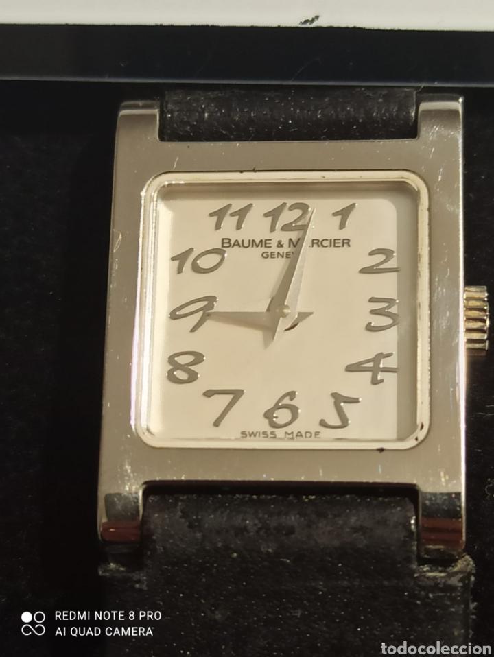 RELOJ SEÑORA BAUME &MERCIER,VICEVERSA XL ,CON 12 DIAMANTES EN LA HEBIA. (Relojes - Relojes Actuales - Baume & Mercier)