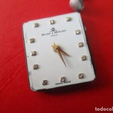 Relojes - Baume & Mercier: MAQUINARIA DE RELOJ DE PULSERA MARCA BAUME&MERCIER. Lote 273279133