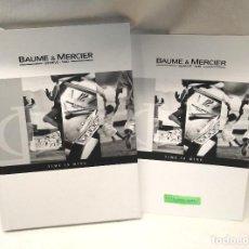 Relojes - Baume & Mercier: BAUME & MERCIER COLECCIÓN 2005 CON LISTA DE PRECIOS. Lote 276793623