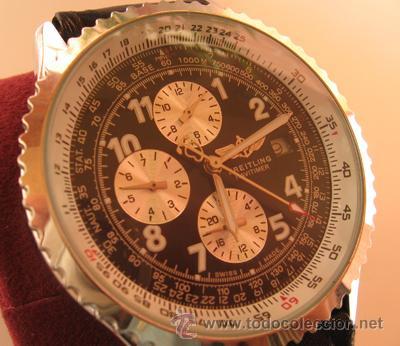 14f2782c394f Preciosa réplica reloj breitling navitimer