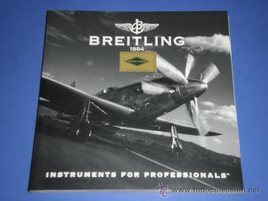 BREITLING - RELOJES RELOJ CATALOGO PROFESIONAL PUBLICIDAD CHRONOLOG 05 - AÑO 2005 (Relojes - Relojes Actuales - Breitling)