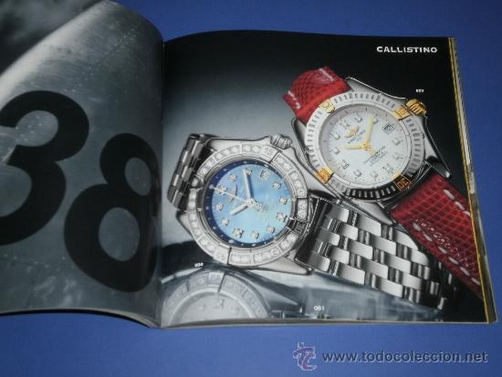 Relojes- Breitling: BREITLING - RELOJES RELOJ CATALOGO PROFESIONAL PUBLICIDAD CHRONOLOG 05 - AÑO 2005 - Foto 2 - 39102830