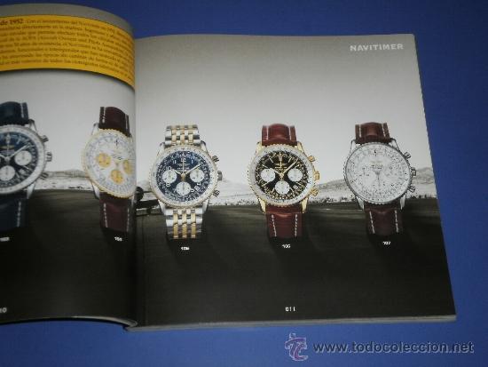 Relojes- Breitling: BREITLING - RELOJES RELOJ CATALOGO PROFESIONAL PUBLICIDAD CHRONOLOG 05 - AÑO 2005 - Foto 3 - 39102830