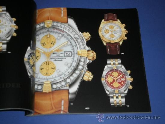 Relojes- Breitling: BREITLING - RELOJES RELOJ CATALOGO PROFESIONAL PUBLICIDAD CHRONOLOG 07 - AÑO 2007 - Foto 2 - 39102959
